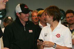 Scott Dixon et Dan Wheldon