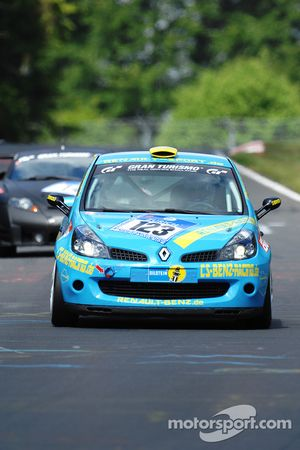 #123 Renault Clio: Christian Benz, Stefan Benz