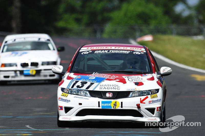 #131 Mathol Racing Honda Civic Type R: Berthold Bermel, Thomas Stoltz
