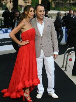 David Furnish  Husband of Elton John) Amber Fashion which benefits the  Elton John Aids Foundation
