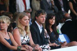Jodie Kidd and Eddie Irvine Amber Fashion which benefits the Elton John Aids Foundation