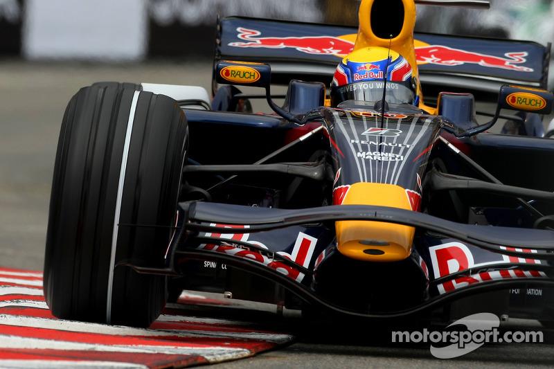 2008 - F1 chez Red Bull