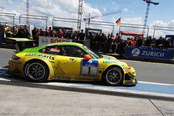 Winnaars #1 Manthey Racing Porsche 911 GT3 RSR: Timo Bernhard, Marc Lieb, Romain Dumas, Marcel Tiemann