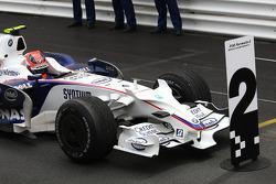 2nd place Robert Kubica,  BMW Sauber F1 Team