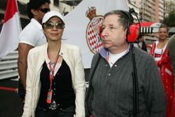 Jean Todt, and Michelle Yeoh Girlfriend of Jean Todt