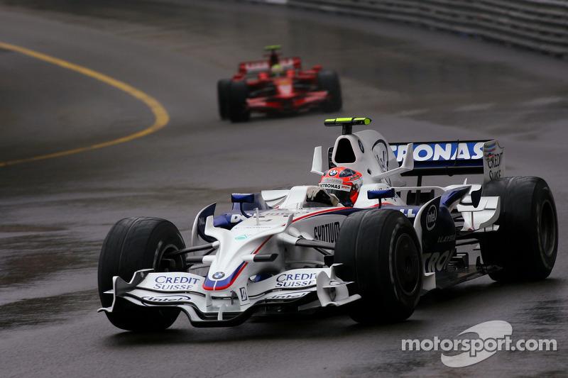 Robert Kubica, Grand Prix Monako 2008