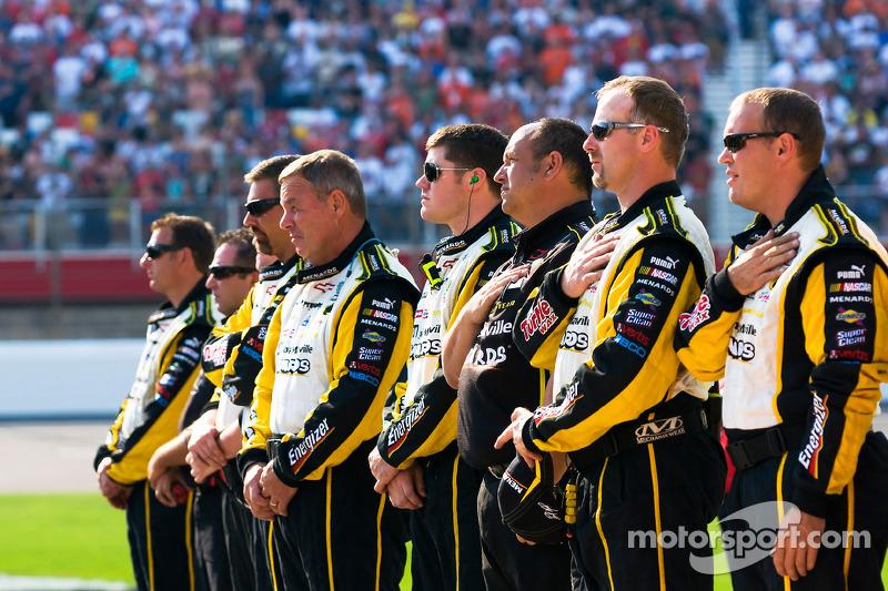 Image result for NASCAR STANDS FOR ANTHEM