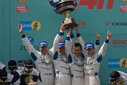 Podium: 1. #1 Manthey Racing, Porsche 911 GT3 RSR: Timo Bernhard, Marc Lieb, Romain Dumas, Marcel Ti
