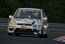#154 GDMH Motorsport Ford Fiesta: Christian Franck, Bob Kellen, Gerry Schanen, Yann Munhowen