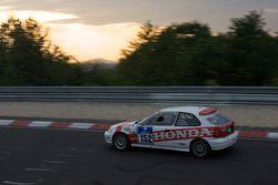 #152 König Komfort u. Rennsitze Honda Civic: Günter Kühlewein, Jörg Dörre, Fritz Köhler, Horst Lars Müller