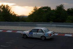 #176 BMW 318is E30: Manfred Anspann, Jochen Senft, Dietmar Henke