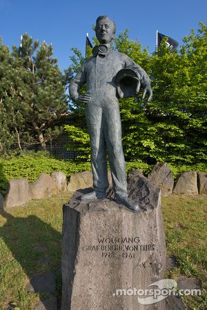 Statue of Wolfgang Von Trips