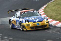 #43 Porsche 997 GT3: Wolfgang Destrée;Kersten Jodexnis;Jens Petersen