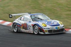 #121 Porsche 997: Sabine Schmitz;Klaus Abbelen;Edgar Althoff