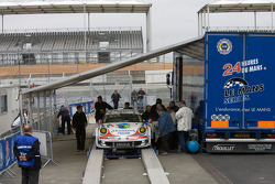 #76 Imsa Performance Matmut Porsche 911 GT3 RSR at scrutineering