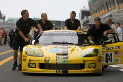 Des membres du Corvette Racing