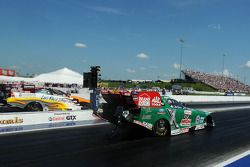 Tim Wilkerson (left), John Force