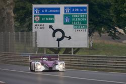 #34 Van Merksteijn Motorsport Porsche RS Spyder: Jos Verstappen, Peter Van Merksteijn, Jeroen Bleekemolen