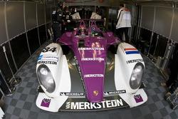Jos Verstappen in de #34 Van Merksteijn Motorsport Porsche RS Spyder