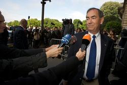 FIA deleguates enter the FIA Place de la Concorde headquarters: Robert Darbelnet, President of the American Automobile Association