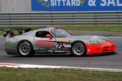 #22 Belgium Racing Dodge Viper Competition Coupe: Patric Derdaele, Laurent Van Moerkerke