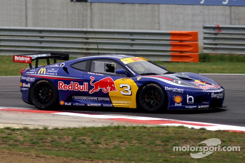 Francorchamps Motors F430 GT3 : Frédéric Bouvy, Damien Coens