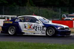 #213 Chad Peninsula Racing BMW GTR: Phil Keen, Jonathan Coleman