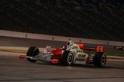 Ryan Briscoe leaving the pits