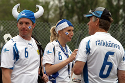 Kimi Raikkonen, Fans