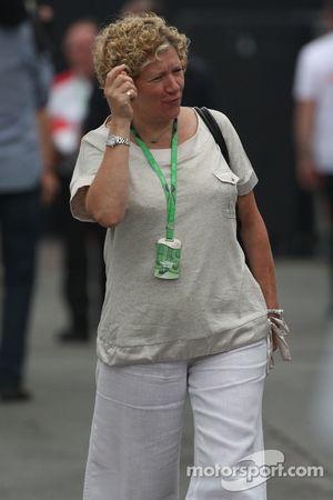 Кармен Локхарт, мама Льюиса Хэмилтона, McLaren Mercedes