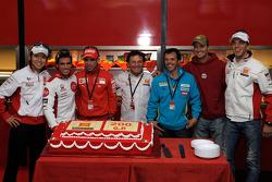 Celebra 200 el equipo Gresini MotoGP