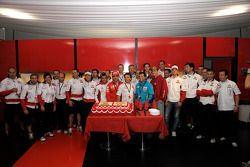Team Gresini celebrates 200th MotoGP
