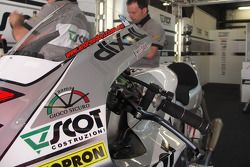 JiR Honda RC212V detalle de la motocicleta