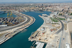 Valencia City Grand Prix Circuit Construction