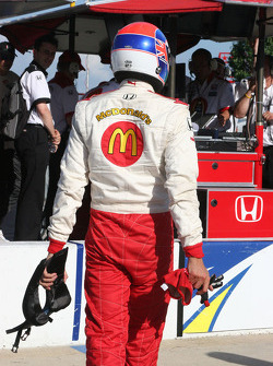 Justin Wilson after qualifying