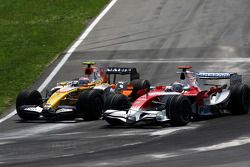 Nelson Piquet, Renault F1 Team, Jarno Trulli, Toyota Racing