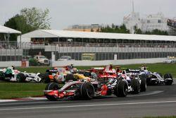 Lewis Hamilton, McLaren Mercedes MP4-23