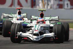 Rubens Barrichello, Honda Racing F1 Team RA108, Jenson Button, Honda Racing F1 Team RA108