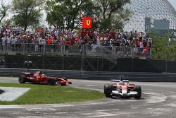 Timo Glock, Toyota F1 Team, Felipe Massa, Scuderia Ferrari
