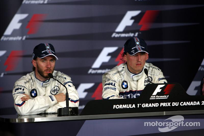 Heidfeld teve seu peso na vitória de Kubica no Canadá, em 2008. O alemão liberou espaço para seu colega e segurou os rivais atrás, já que estava com o carro mais pesado. Assim, a BMW obteve sua única vitória - e dobradinha.