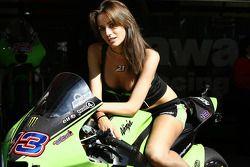 A lovely Kawasaki girl