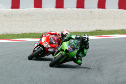 Anthony West y Marco Melandri