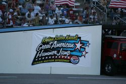 Texas Motor Speedway Logo for the Robbie Knievel Hummer jump