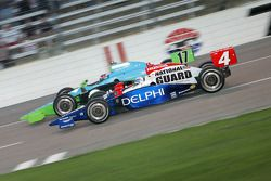 Ryan Hunter-Reay and Vitor Meira