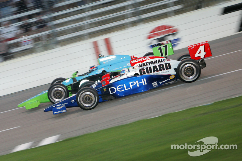 Ryan Hunter-Reay et Vitor Meira