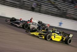 A.J.Foyt IV and Tomas Scheckter