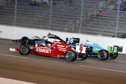 Scott Dixon, Marco Andretti and Ryan Hunter-Reay