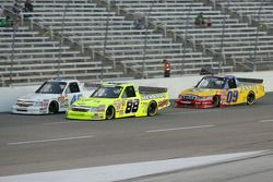 Aric Almirola, Matt Crafton and Bobby East