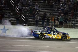 Burn out for Ron Hornaday