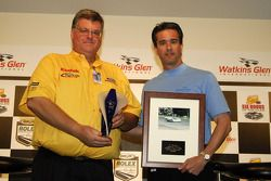 Kevin Doran and Craig Rust with the Driver of the Decade award